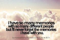 #Memories #Love #Quotes