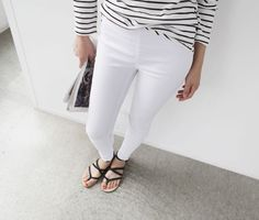 Minimal + Chic | stripes and white