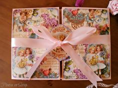 Mini Album with Sweet Sentiments by Zara #Graphic45