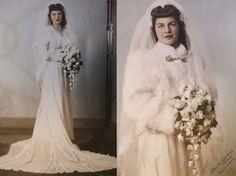 Hollywood glam! wedding dressses, vintag bride, vintage weddings, wedding vintage, vintage wedding gowns, vintage wedding dresses, gown dresses, bridal coat, coats
