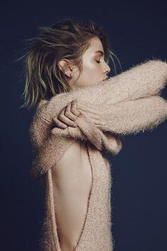 For Love & Lemons Knitz #style #fashion #sweater #bob #hair