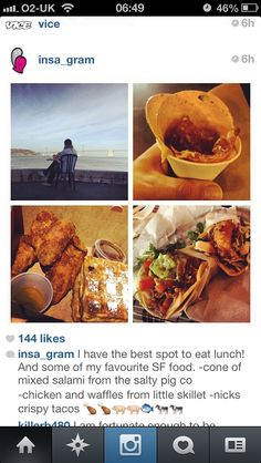Insa's SF food tips
