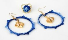 knitted jewelry by Indigolia