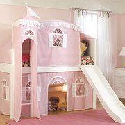 castl, kid bedrooms, kid beds, little princess, kid furniture, children furniture, loft, room kids, dream rooms