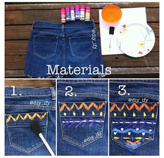 Paint Shorts