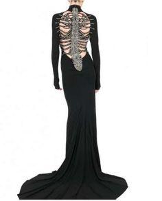 DSQUARED SKELETON DRESS