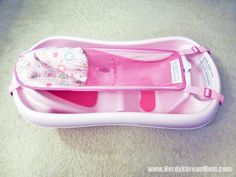 My Favorite Baby Products! – Infant tub with SLING