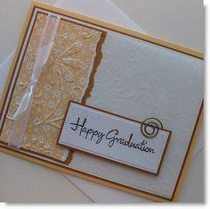 Graduation Card  Handmade Blank Note Card  by Sentimentalist, $2.50