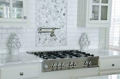 Kitchens contemporary kitchen // white kitchen, pretty tile