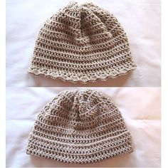 His or Hers Crochet Hat ~ free pattern