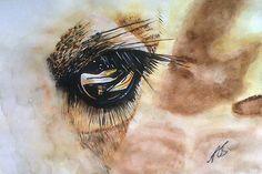 "Saatchi Art Artist Paula Steffensen; Painting, ""Winows I Giraffe"" #art"