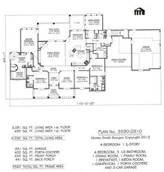 House Plans On Pinterest Floor Plans House Plans And