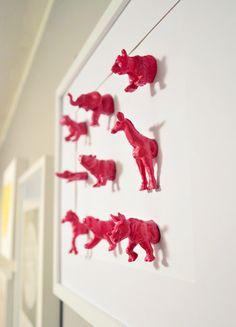 House Crashing in Cincinnati!   Young House Love - animal magnets