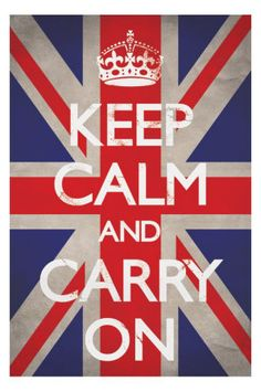 Vintage advertising - Keep Calm and Carry On