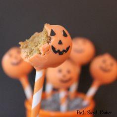 Little Debbie Pumpkin Pie Cake Pops | #Recipe #Cakepops #Halloween
