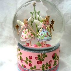 Fairy Snow Globes