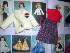 "Tagged Vogue 10 5"" Jill Doll Plaid Skirt w Red Jersey White Felt Blazer 1958 | eBay"