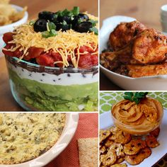 Healthy appetizers for Super Bowl Sunday