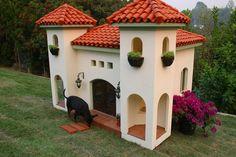 Mansion Dog house?