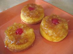 Pineapple Upside Down Cupcakes       and other good luau recipes