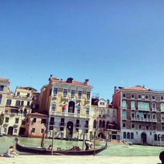 Venezia. Vista sul Canal Grande.