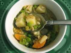 Irish Farmhouse Soup for St. Patrick's Day By Albion Cooks -- see more at LuxeFinds.com
