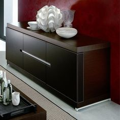 City Buffet & Rossetto City Buffet | YLiving $2266.38 leather covered doors