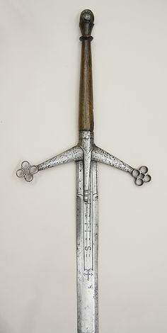 Claymore, late 15th century. Scottish. The Metropolitan Museum of Art, New York. Bequest of Alan Rutherfurd Stuyvesant, 1954 (54.46.10) #swords