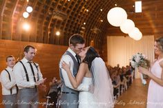 First kiss as husband and wife. Phot by @Shelby Schmidt Imagery  - Tacoma, WA Wedding Photographer | SnapKnot