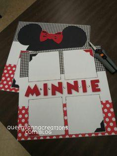 Minnie scrapbook lo