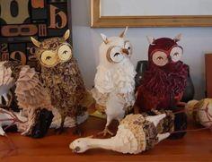 Etsy Finds: Vintage Owl Sculptures