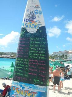 Headed here during our trip in June, 2013 Sunset Grill flight arrival schedule, Maho Beach, St Maarten, Caribbean