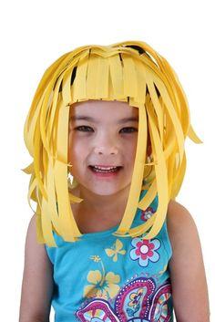 paper wigs, hilarious!