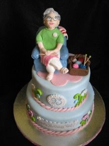 Grandmas Birthday Cake 2012 Cakes Pinterest