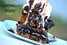 Wow...I think I just died and went to oreo peanut butter brownie heaven