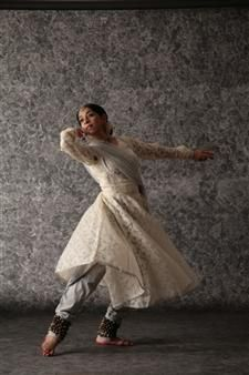 Kathak - abstract Indian dance