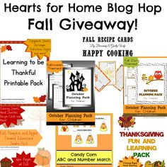 LAST DAY! Enter to #win! Check out this great Fall giveaway from the Hearts for Home Blog Hop team!
