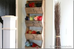 How to build a wall mount storage bin! via @remodelaholic