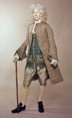 Formal ensemble ca. 1730-1750 via Manchester City Galleries