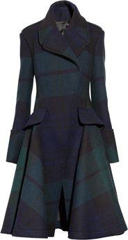 McQ Alexander McQueen | The Black Watch plaid coat|NET-A-PORTER.COM