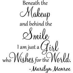 GOING IN MY BATHROOM!!!!!! B/c I am a Marilyn FREAK!!!
