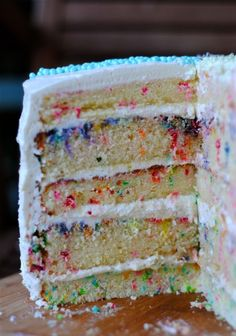 inside of bedazzled cake