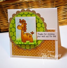Created by Tobi Crawford!  Zoo-pendous Stamps by Whimsie Doodles