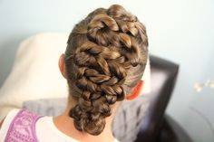 Twisted Zig-Zag Hairdo  Updo Hairstyles