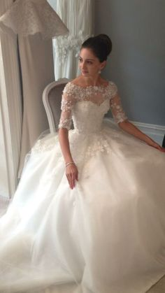 wedding dressses, bridal collection, lace tops, ball gowns, the dress, the bride, stunning wedding dresses, gown dresses, steven khalil
