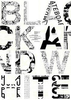 Tokyo Graphic Poster Exhibition [ BLACK AND WHITE ]