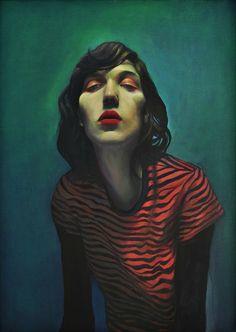 "Saatchi Online Artist: Milan Nenezic; Oil, 2007, Painting ""I'm so Beautiful"""