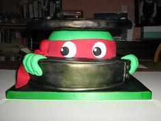 Ninja Turtle Cake!