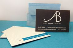 Love Moo.com's Luxe #business #cards  www.amiebakercreative.com