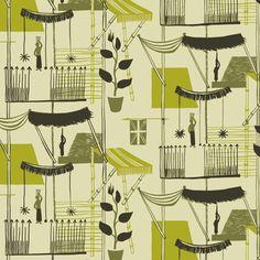 lights, milan, vintag textil, fashion, pattern, vintage fabrics, chalmer, textile design, lucienne day